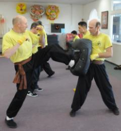 Kickboxing Dynamic Push Kick