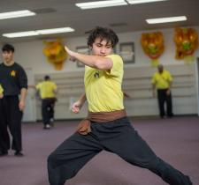 Kung Fu Handset Form with Energy