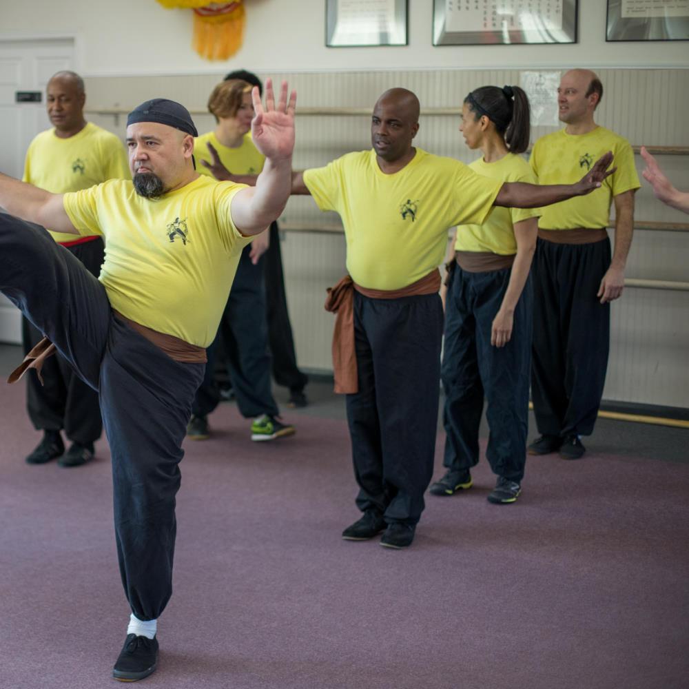 Kung Fu Basics Class Kick Drills