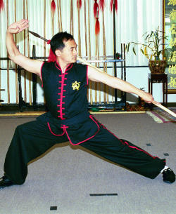 Sifu Tai Yim with 9th Generation Master, Jae Ha Hwang