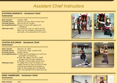 Assistant Chief Instructors - Page 1