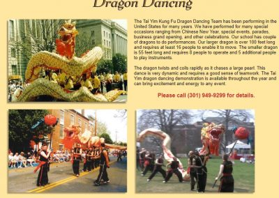 Chinese Dragon Dancing