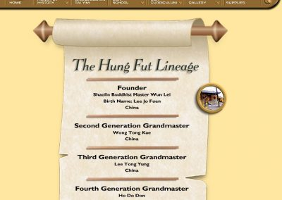 Hung Fut Lineage - Page 1