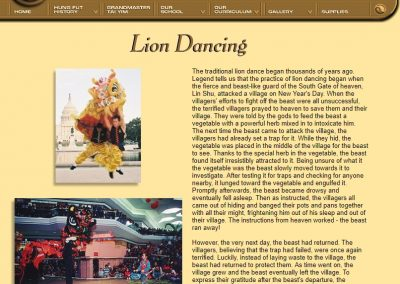 Chinese Lion Dancing - Page 1