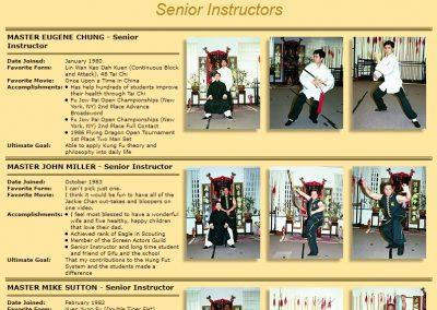Senior Instructors - Page 1